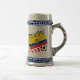 Ecuador Soccer Team Beer Stein