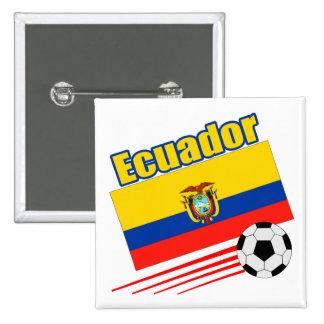 Ecuador Soccer Team Buttons