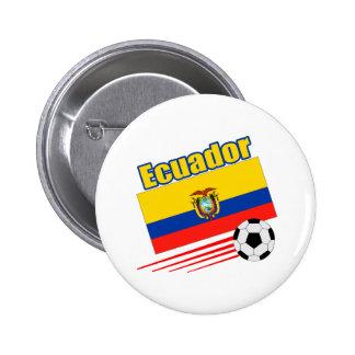 Ecuador Soccer Team Pinback Button
