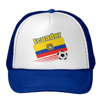 Ecuador Soccer Team Mesh Hat