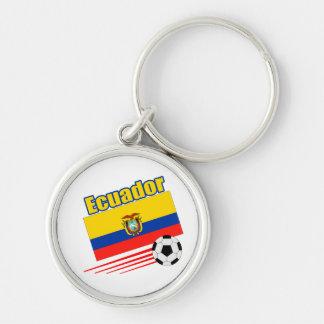 Ecuador Soccer Team Keychain