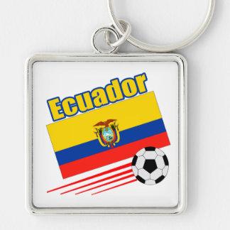 Ecuador Soccer Team Key Chain