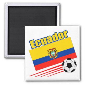 Ecuador Soccer Team Fridge Magnet