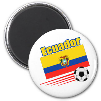 Ecuador Soccer Team Refrigerator Magnet