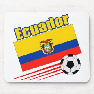 Ecuador Soccer Team Mousepads