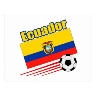 Ecuador Soccer Team Postcard