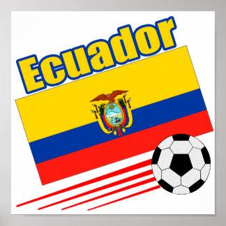 Ecuador Soccer Team Poster
