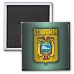 """""""Ecuador Steel"""" 2 Inch Square Magnet"""