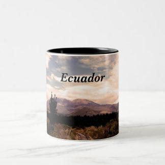 Ecuador Taza De Dos Tonos