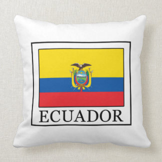 Ecuador Throw Pillow