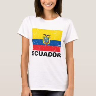 Ecuador Vintage Flag T-Shirt