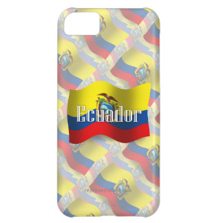 Ecuador Waving Flag Case For iPhone 5C