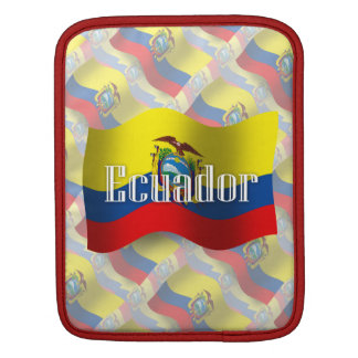 Ecuador Waving Flag iPad Sleeves