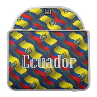 Ecuador Waving Flag Sleeves For MacBooks