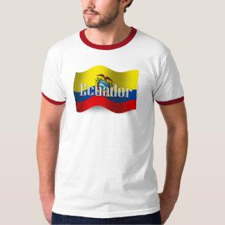 Ecuador Waving Flag T-Shirt