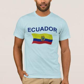 Ecuador Wavy Flag T-Shirt