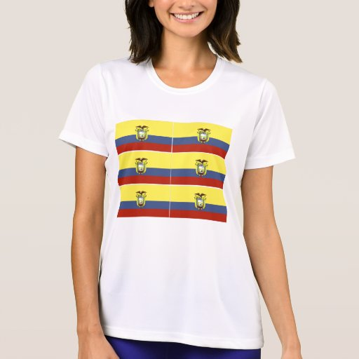 Ecuador women's t-shirts