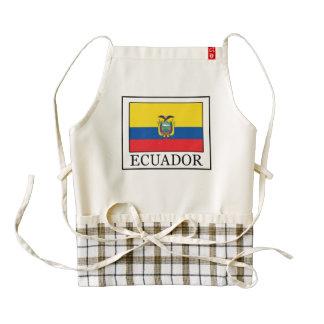 Ecuador Zazzle HEART Apron