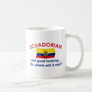 Ecuadorian apuesto taza