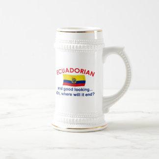 Ecuadorian apuesto taza de café