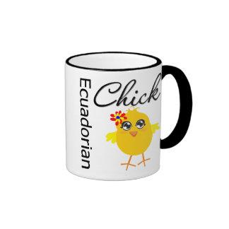 Ecuadorian Chick Ringer Mug