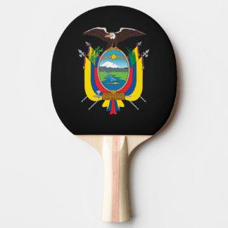 Ecuadorian coat of arms ping pong paddle