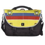ecuadorian flag commuter bag