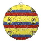 ecuadorian flag dart board