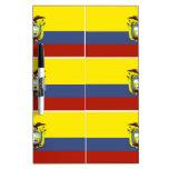 ecuadorian flag Dry-Erase board