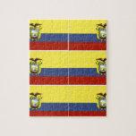 ecuadorian flag jigsaw puzzle