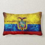 Ecuadorian Flag Throw Pillows