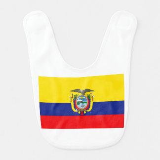 Ecuadorian Flag Bibs