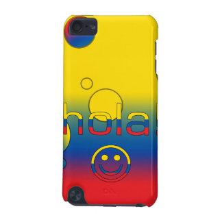 Ecuadorian Gifts : Hello / Hola + Smiley Face iPod Touch 5G Case