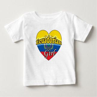 Ecuadorian Girl Baby T-Shirt