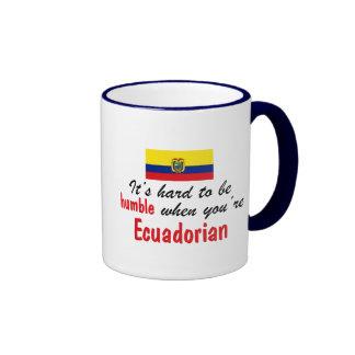 Ecuadorian humilde taza