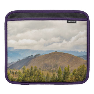 Ecuadorian Landscape at Chimborazo Province iPad Sleeve