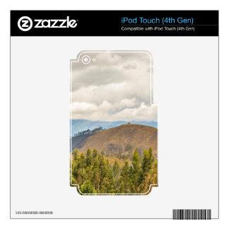 Ecuadorian Landscape at Chimborazo Province iPod Touch 4G Decal