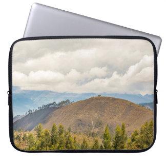 Ecuadorian Landscape at Chimborazo Province Laptop Sleeve