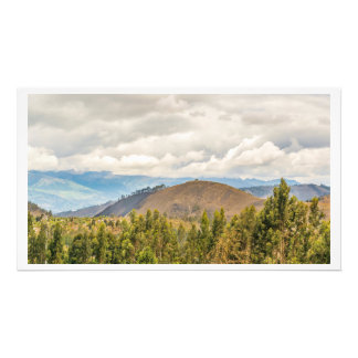 Ecuadorian Landscape at Chimborazo Province Photo Print
