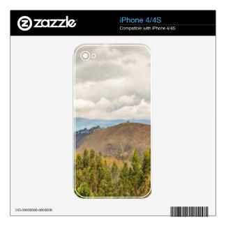 Ecuadorian Landscape at Chimborazo Province Skins For iPhone 4