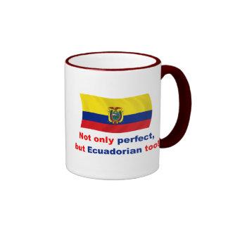 Ecuadorian perfecto tazas