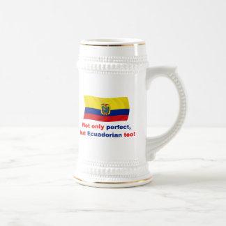 Ecuadorian perfecto tazas de café