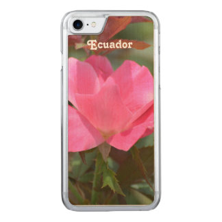 Ecuadorian Rose Carved iPhone 7 Case