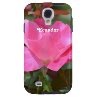 Ecuadorian Rose Galaxy S4 Case