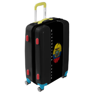 Ecuadorian touch fingerprint flag luggage