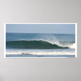 Ecuadorian Wave Poster