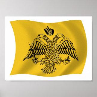 Ecumenical Patriarch Flag Poster Print