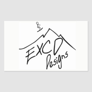 ECXD Designs Sticker