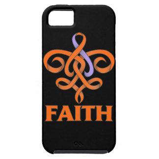 Eczema and Psoriasis Faith Fleur de Lis Ribbon iPhone 5 Covers