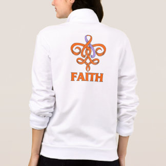 Eczema and Psoriasis Faith Fleur de Lis Ribbon Jackets